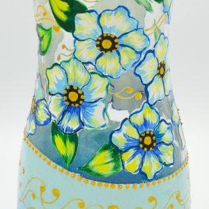 Vaza Pictata cu Panselute