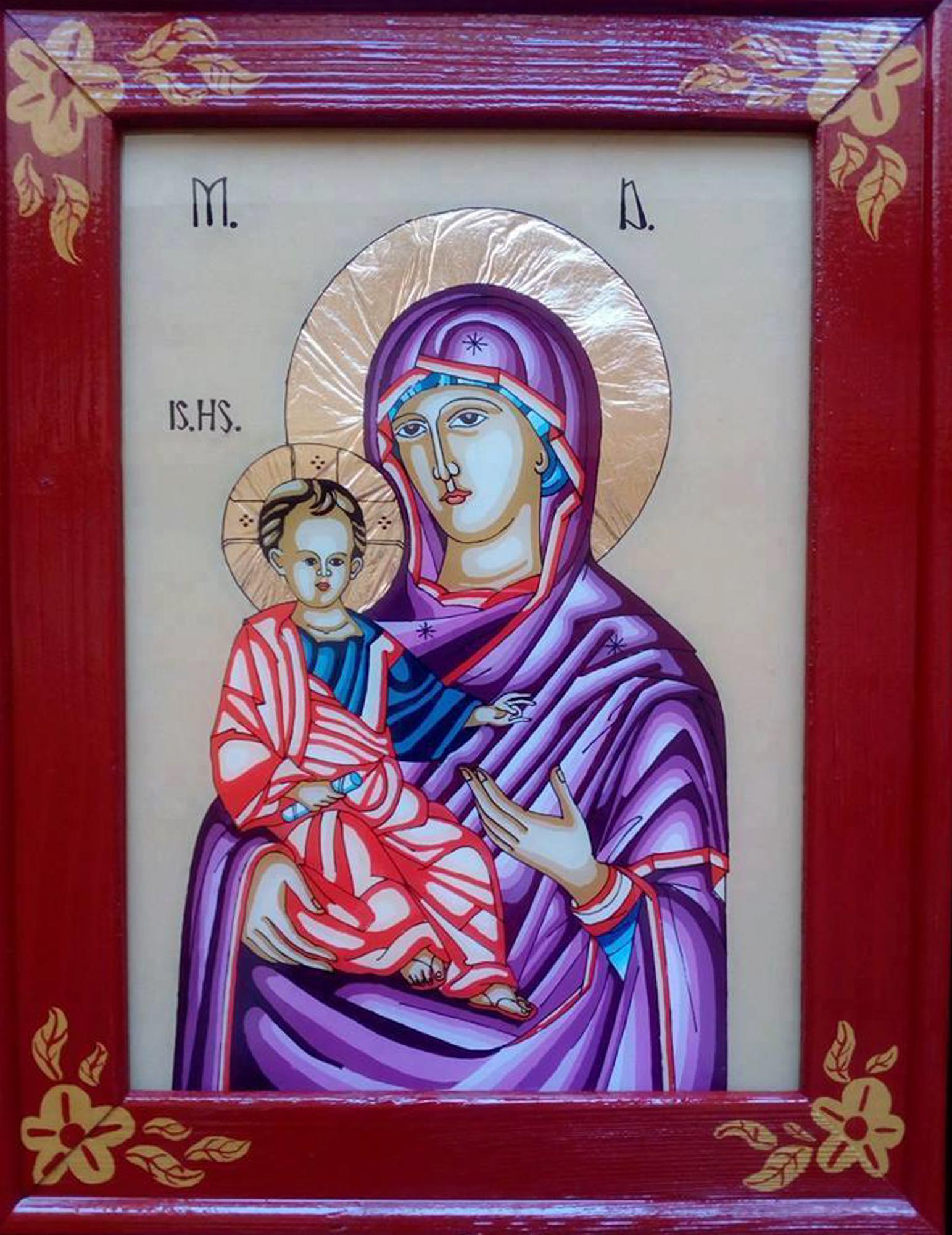 Icoana Maica Domnului cu Iisus